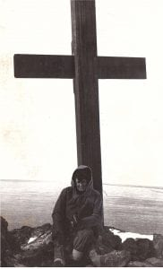 Dorothy Braxton - Scott's Memorial Cross, Observation Hill, Antarctica, 1968
