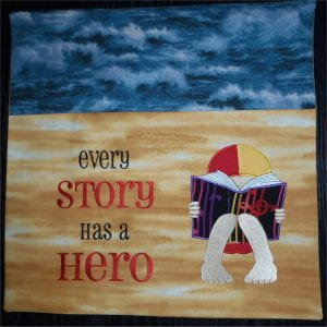 Available to order from Storybook Cushions